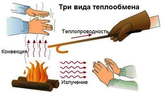 Теплообмен и виды теплообмена в физике