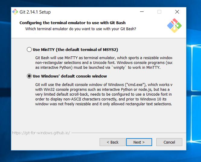 Установка системы Git на компьютер с Windows