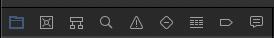 Xcode. Навигация в навигаторе