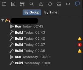 Xcode. Отчёты по сборкам проекта